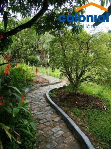 Chácara De 2000,00m2 Com Casa Grande Antiga Rio Acima-champirra/jundiaí - Ch00098 - 69302378
