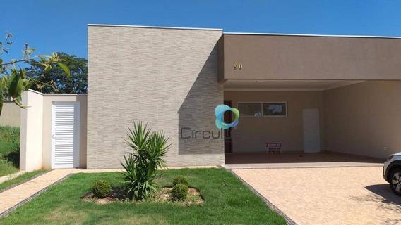 Casa Com 3 Dormitórios À Venda, 173 M² Por R$ 740.000 - Quinta Do Bosque - Ribeirão Preto/sp - Ca1316