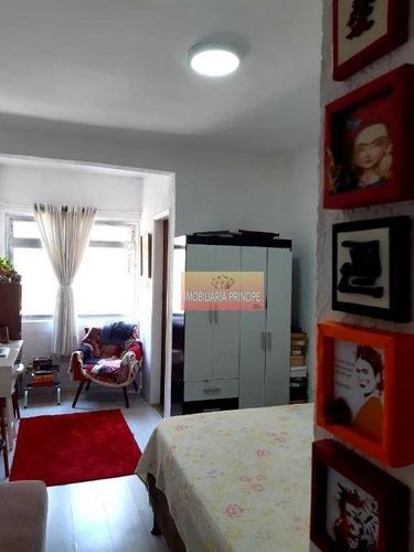 Imagem 1 de 14 de Apartamento Com 1 Dormitório À Venda, 36 M² Por R$ 286.200,00 - Aclimação - São Paulo/sp - Ap0977