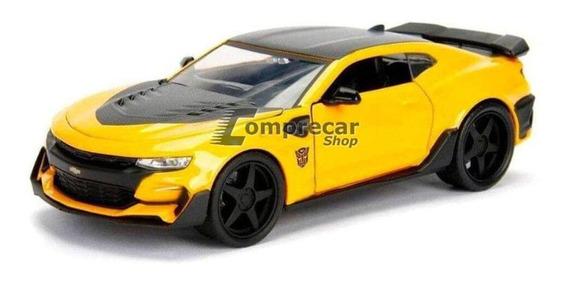 Miniatura Chevy Camaro Transformers 2016 Amarelo Jada 1/24