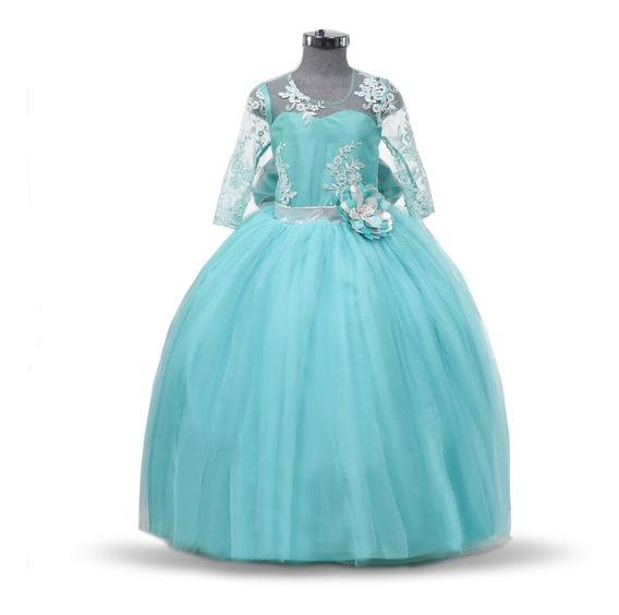Vestido De Niña Fiesta Elegante Modelo 776
