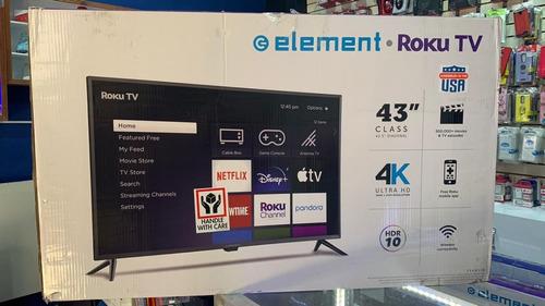 Imagen 1 de 1 de Smart Tv Element 43 PuLG 4k Ultra Hd