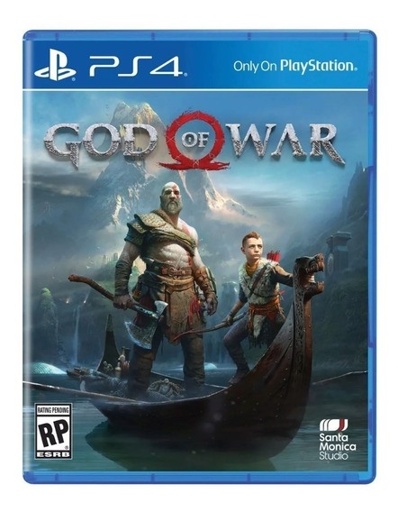 Jogo God Of War 4 Mídia Física Ps4 Seminovo Frete 12,00