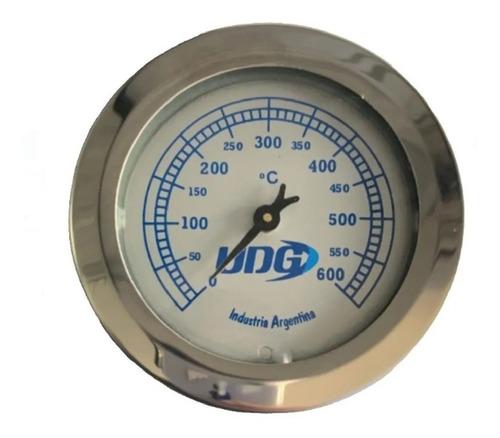Imagen 1 de 6 de Pirometro Termometro Reloj Temperatura Horno Pizzero Barro