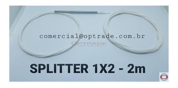 10 X Splitter Desbalanceado 1x2 10x90% - Homologado - 2m