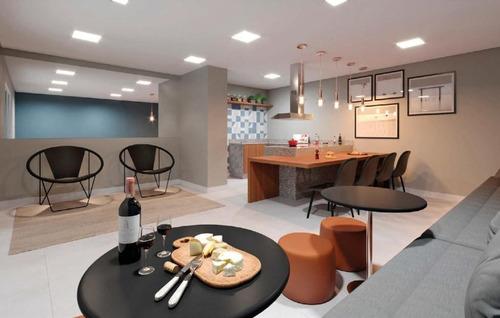 Apartamento Com 2 Dormitórios À Venda, 37 M² Por R$ 288.700,00 - Santa Teresinha - São Paulo/sp - Ap9140