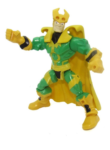 Boneco Loki Marvel Desmontável Hero Mashers Hasbro 16 Cm C24