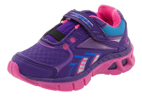 Tênis Infantil Menina Rdx- Pink/uva