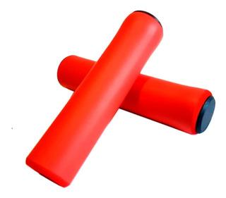 Puños Wkns De Silicona Con Tapones 22.2mm