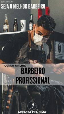 Curso De Barbeiro , Com Certificado .