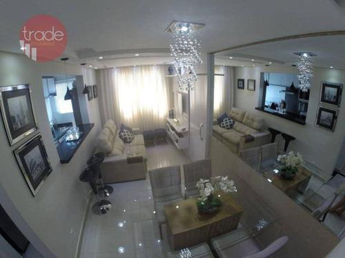 Imagem 1 de 23 de Apartamento À Venda, 47 M² Por R$ 235.000,00 - Reserva Sul Condomínio Resort - Ribeirão Preto/sp - Ap7198
