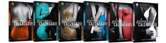 Coleção A Garota Do Calendário - Julho À Dezembro - 6 Livros