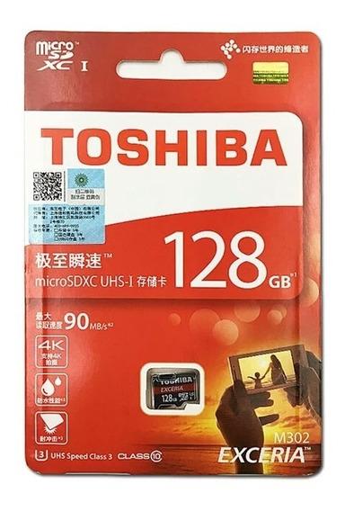 Cartão De Memória Micro Sd Toshiba 128gb
