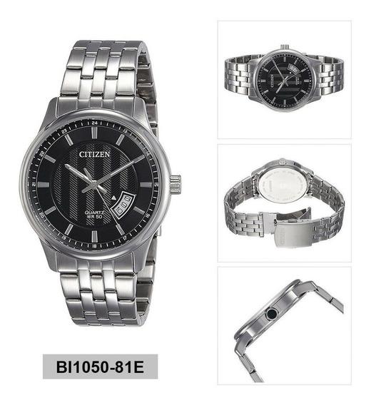Relógio Pulseira De Aço Citizen Quartzo Ana-digi Bi1050-81