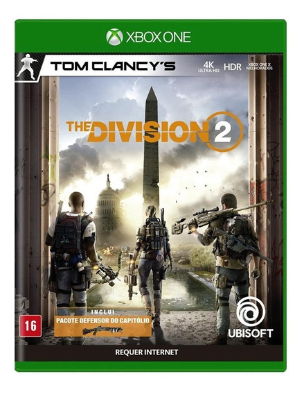 Tom Clancys The Division 2 Xbox One Mídia Física Lacrado