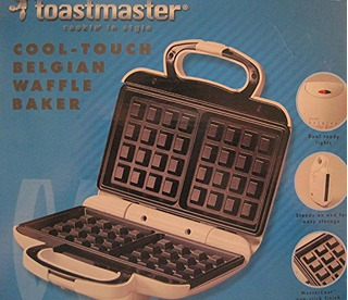 Toastmaster Cooltouch Belgian Waffle Baker Twb2