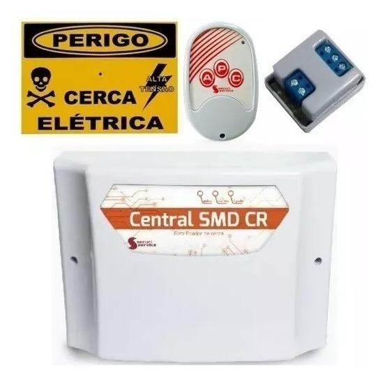 Central Choque Cerca Elétrica Gcp10000 Smd Cr Securi Service