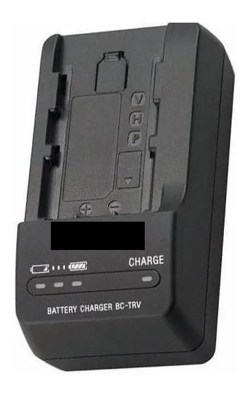 Carregador Sony Bc-trv Hx100 Hx200 Np-fv50 Np Ba16