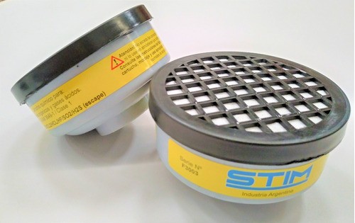 Filtros Vapores Organico Y Acidos 2 Filtros Semimascara Stim