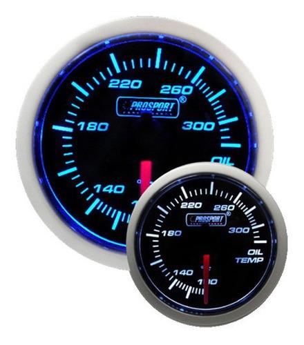 Reloj Temperatura De Aceite Electrónico 52mm Ba Prosport