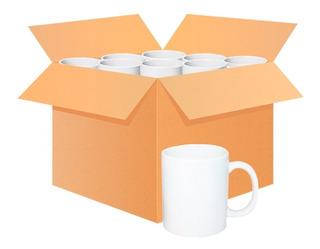 Caja Tazones Blancos Para Sublimacion - 36 Unidades - 11oz