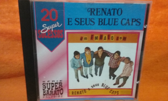 Cd Renato E Seus Blue Caps - 20 Super Sucessos