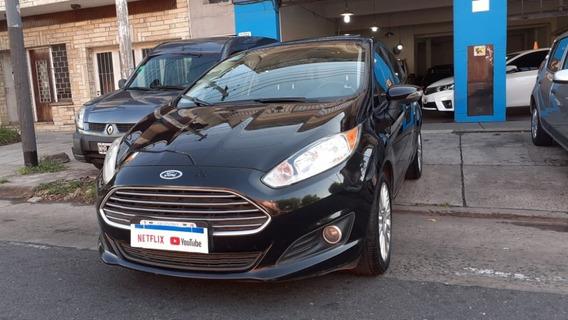 Ford Fiesta Kinectic 1.6 Se Plus Nafta 5 Puertas Negro