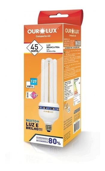 Lampada Compacta 45w 127v 4u Br 6400k Ourolux