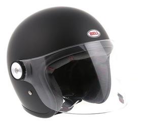Capacete Bell Riot Solid Matte Black 12x S/juros + Brinde