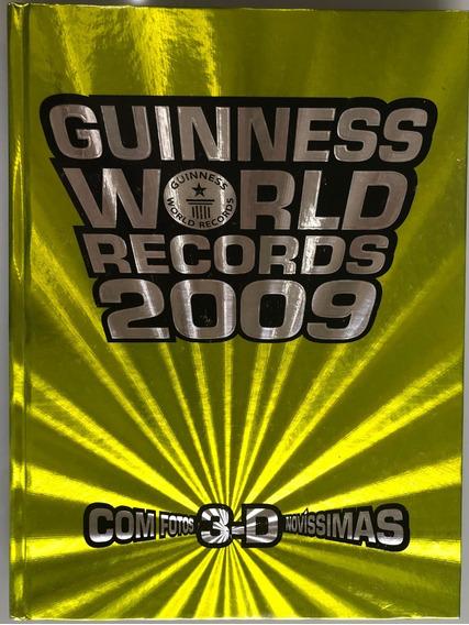 Livro Guinness World Records 2009 - Livro Dos Recordes
