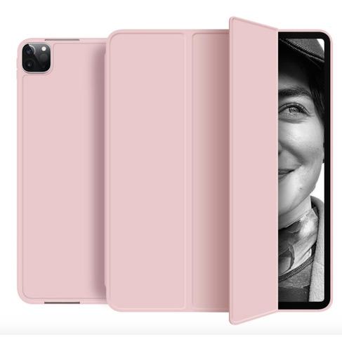 Capa Smartcase Apple iPad Pro 11 2020 Suporte Pencil Rose