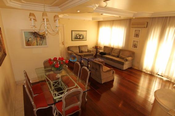 Jd Saude! Apartamento Alto Padrão! 288m², 3 Dts,suite Com Sacada,terraço Grande, 4 Vagas Cobertas - Bi14669