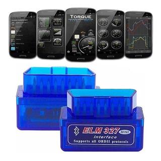 Escáner Automotriz Elm Bluetooth 327 Obd2 Original