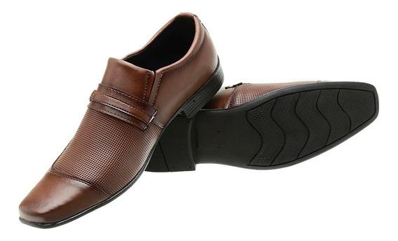Sapatos Masculinos Sociais Siroco Capuccino Qual Garantida