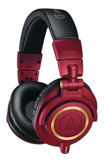 Fone De Ouvido Prof. Audio-technica Ath-m50x Rd