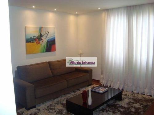 Apartamento Com 3 Dormitórios À Venda, 75 M² Por R$ 595.000,00 - Vila Mariana - São Paulo/sp - Ap3233