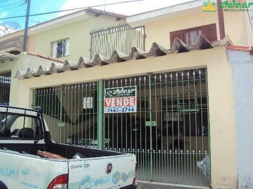 Imagem 1 de 9 de Venda Sobrado 3 Dormitórios Ponte Grande Guarulhos R$ 495.000,00 - 15247v