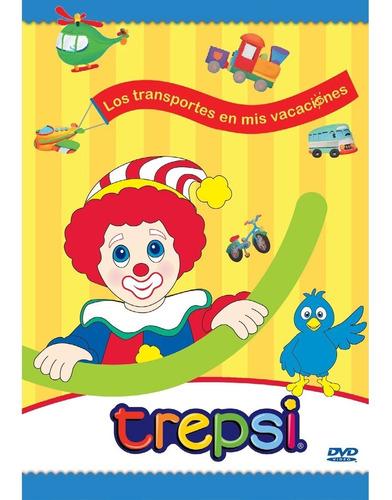 Dvd Compacto Trepsi Musica Infantil Niños Los Transportes
