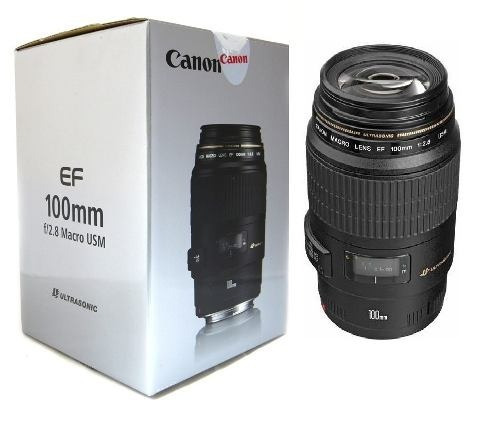 Lente Canon 100mm Macro Ef Usm F/2.8