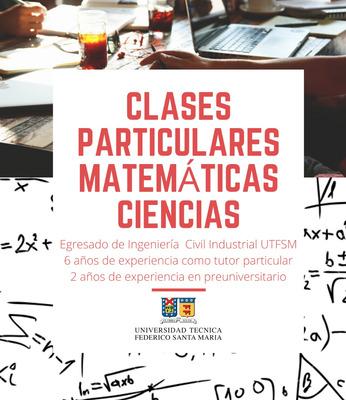 Clases Particulares Online Matemáticas, Ciencias Y Finanzas