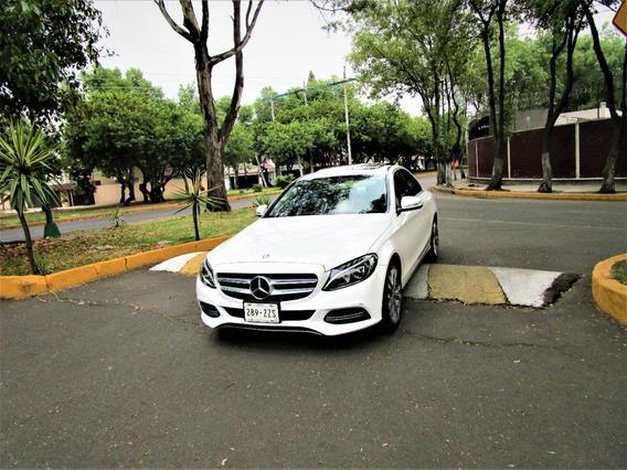 Mercedes C200 2015 Sport Solo 78 Mil Km Único Dueño