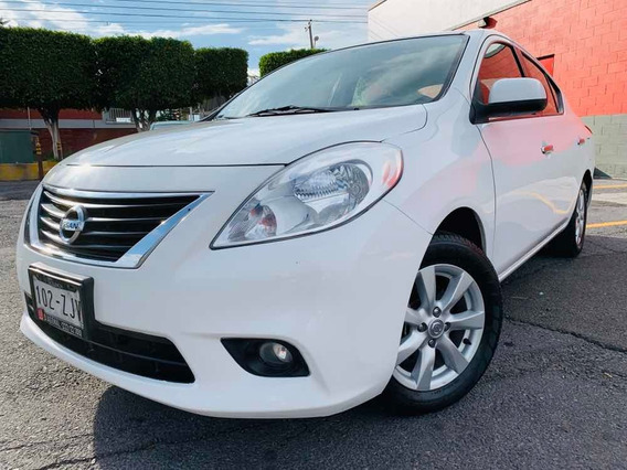 Nissan Versa 1.6 Advance At Sedán 2014 Autos Usados Puebla