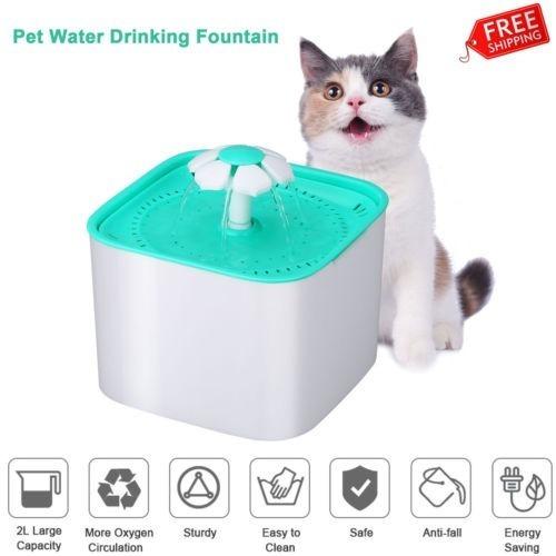Imagen 1 de 5 de Perros Gatos Mascotas Bebedero Automático Intestino Filtro D