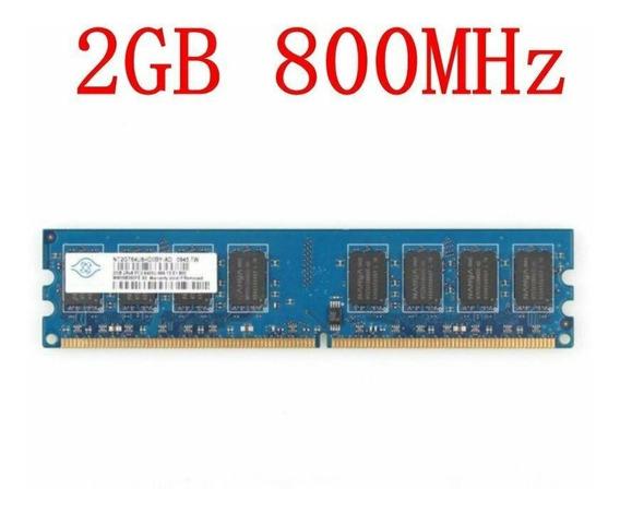 Memoria Ram 2gb Ddr2 800mhz Nanya