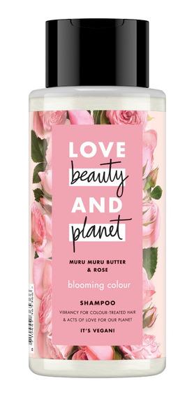 Shampoo Love Beauty & Planet Manteca De Murumuru Y Rosa 400m