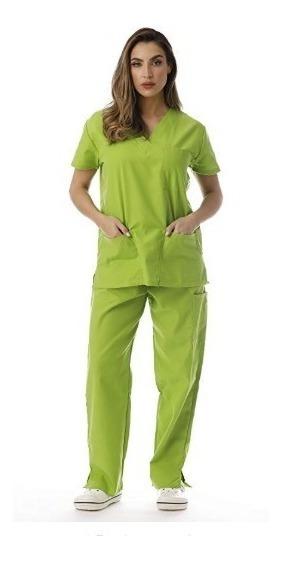 Just Lo Conjunto De Uniforme Enfermera Hospital Color Lime 1