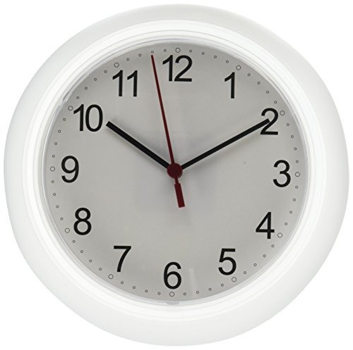 Ikea Rusch 25x4 Cm Reloj De Pared, Blanca