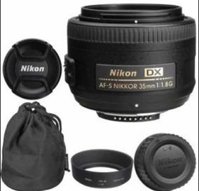 Lente Nikkor Af-s Dx 35mm F1.8g