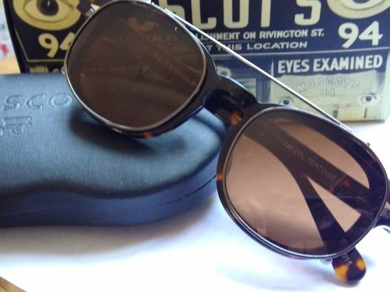 Armação De Óculos Moscot Com Clip On