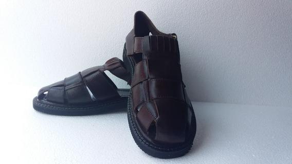 Sandalia Para Hombre De Piel Oropal Huaracheria Acambaro
